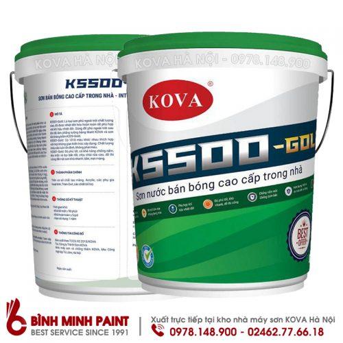 SƠN BÁN BÓNG KOVA -K5500 - NEW (20KG)