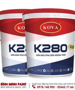 SƠN KOVA PHA SẴN MÀU NHẠT K-280 - NEW (25KG)