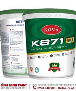 SƠN BÓNG CAO CẤP TRONG NHÀ KOVA K871 - NEW (20KG)