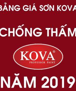 Bảng giá sơn chống thấm Kova các loại mới nhất năm 2019
