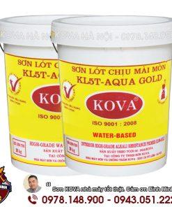 Sơn lót Kova chịu mài mòn KL5T Aqua - Gold (20kg)