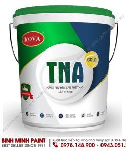 Mua sơn KOVA chất phủ đệm cho sàn Tennis chất lượng chuẩn tại nhà máy